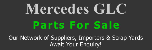 Mercedes GLC stripping for spares