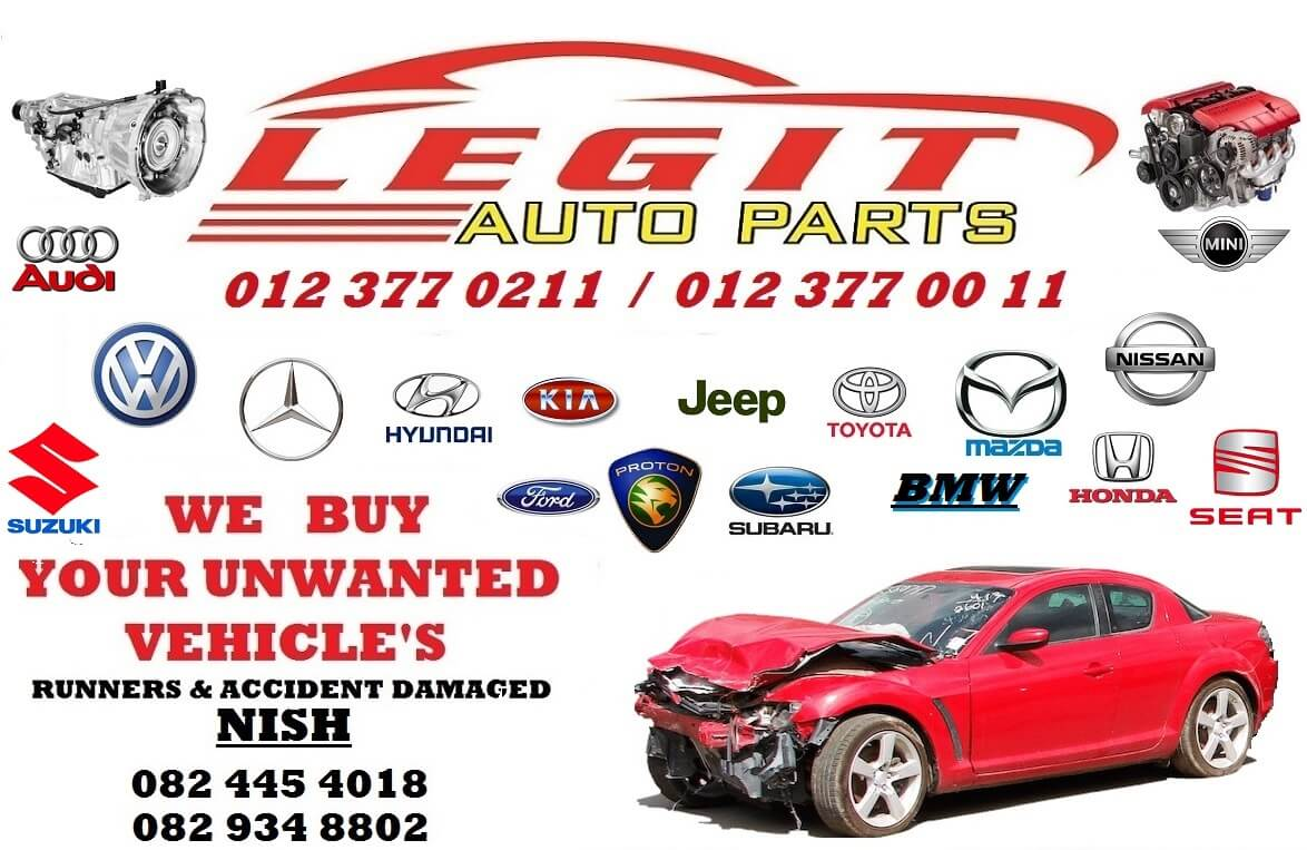 Find Used Car Parts From Scrap Yards With In Pretoria